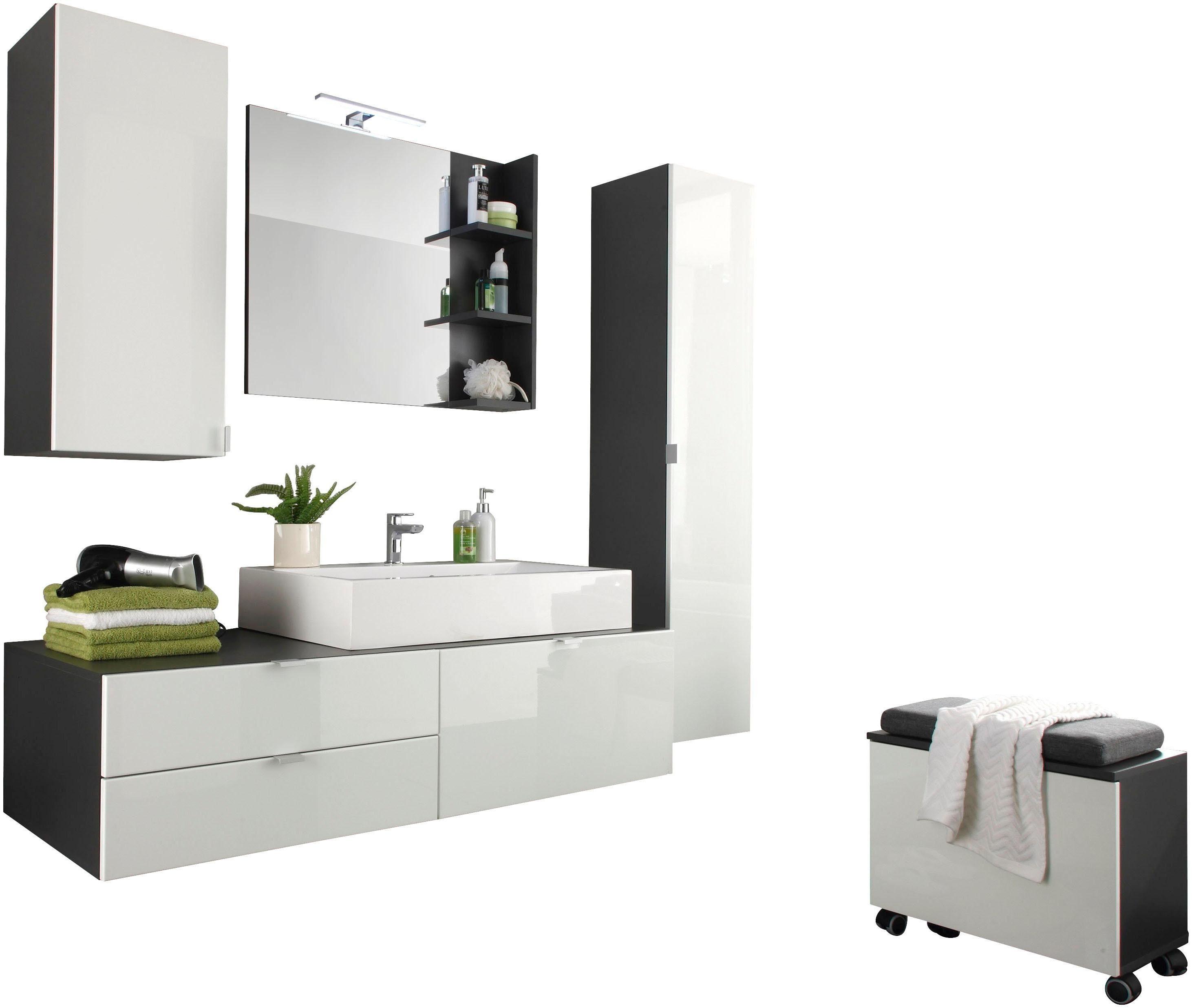 Ikea Küche Hängeschrank   Trendteam Badmöbel set »beach ...