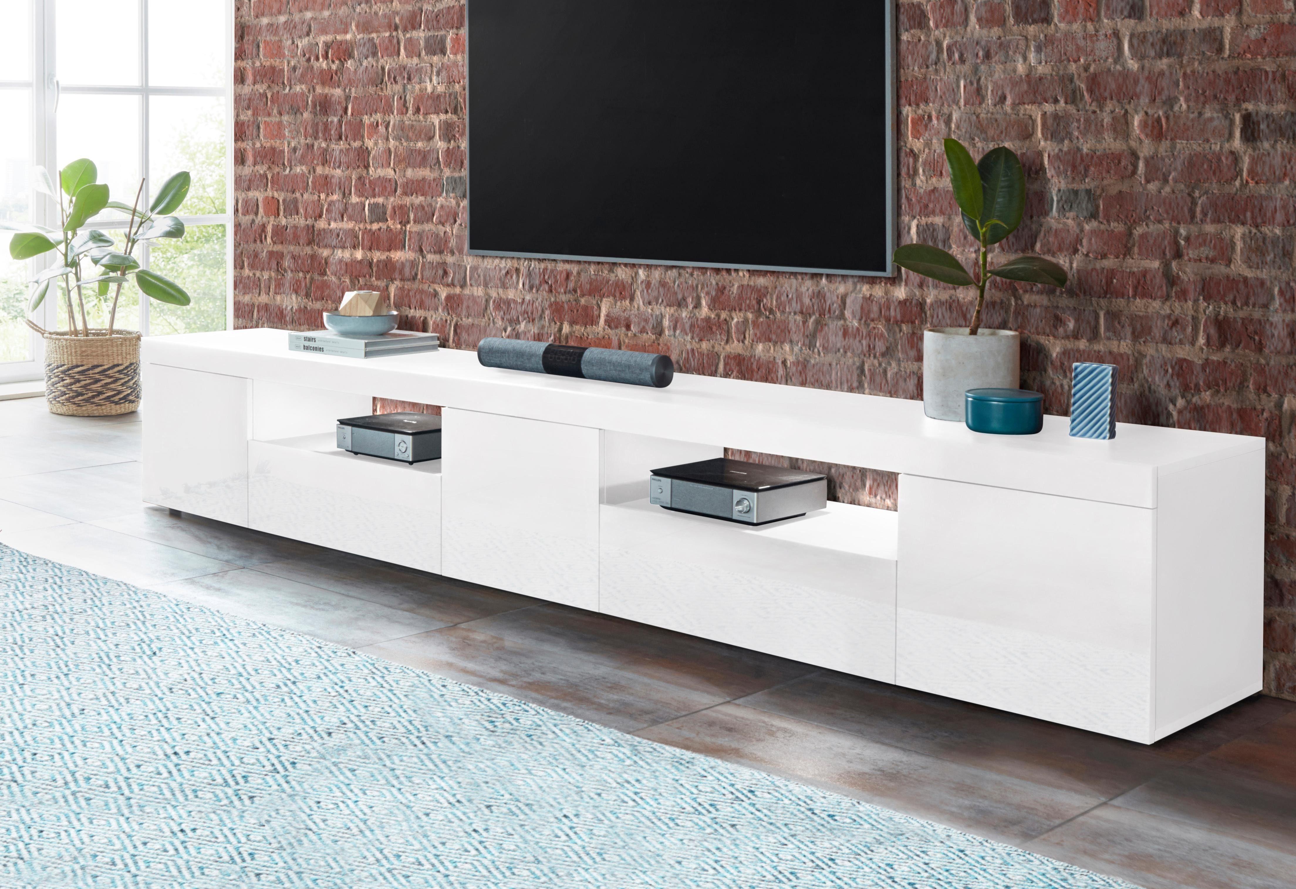 Tecnos Lowboard »Slot«, Breite 240 cm, 3 Türen online ...