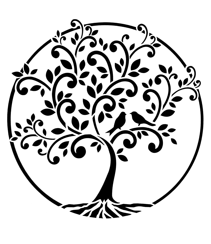 Malvorlage Baum Des Lebens   Vorlagen zum Ausmalen gratis ...
