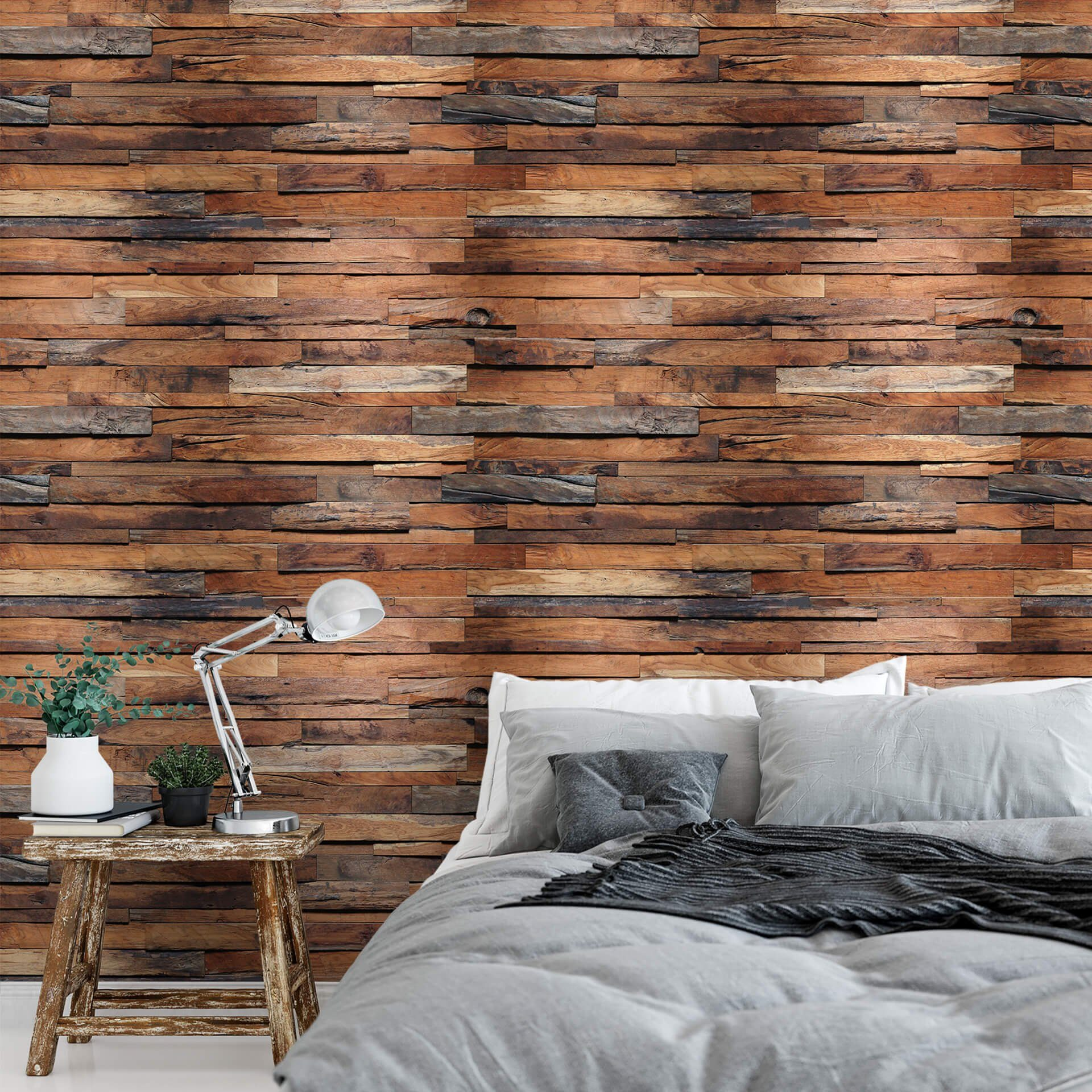 Holz Tapete Schlafzimmer A.s. Création Fototapete, Papier Foto Tapete Holz Braun Wooden Wall Dd118854 Designwalls 2.0 Online Kaufen | Otto