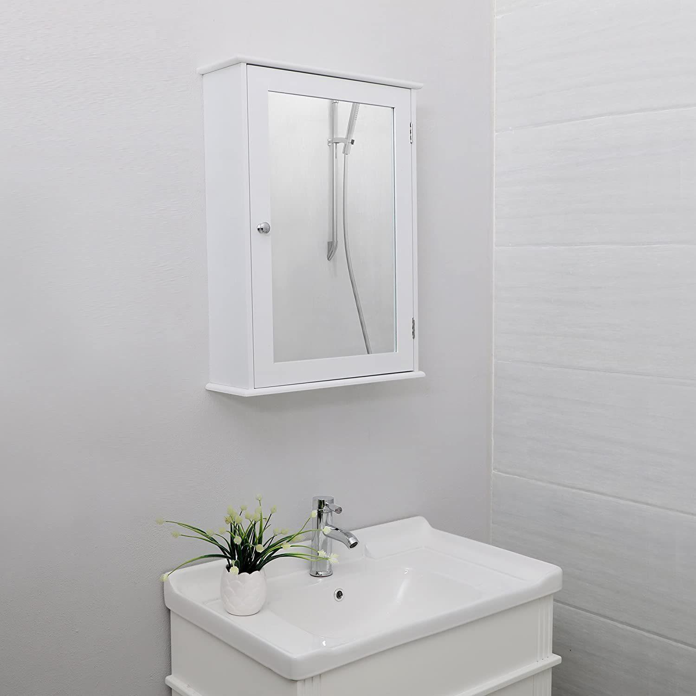 VASAGLE Badezimmerspiegelschrank »LHC001« Spiegelschrank ...