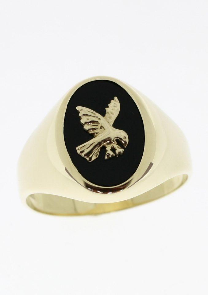 firetti Ring Siegelring mit Onyx und Adler kaufen  OTTO