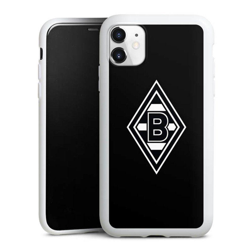 deindesign handyhulle borussia raute schwarz apple iphone 11 hulle wappen borussia monchengladbach gladbach online kaufen otto