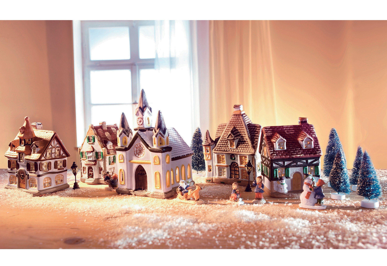 SET PorzellanWeihnachtsdorf online kaufen  OTTO