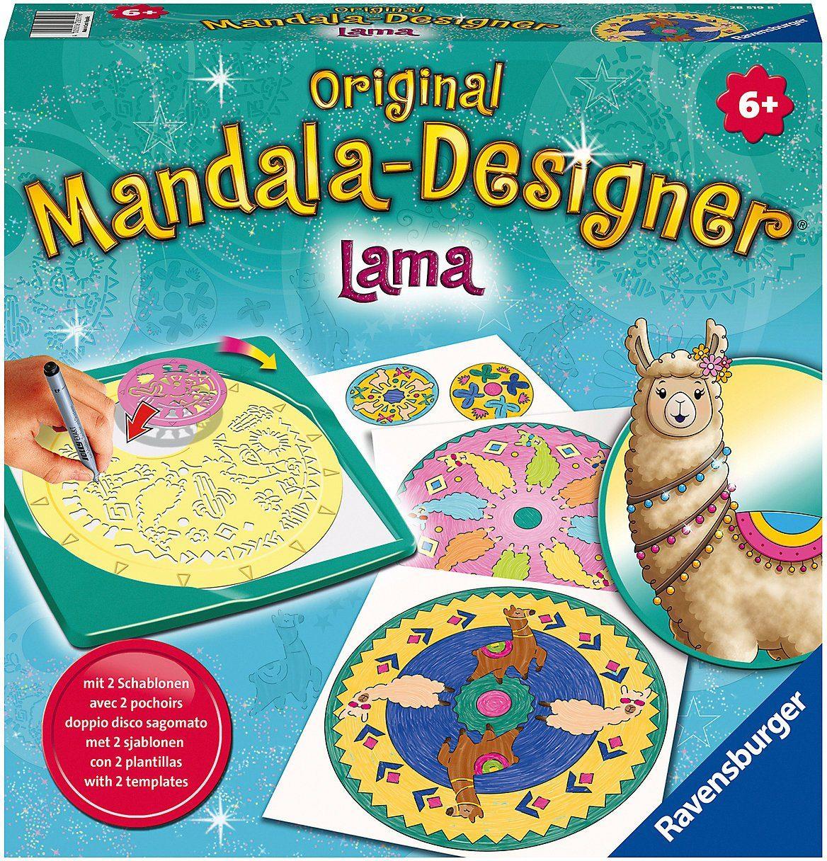 Ravensburger Malvorlage »Original Mandala-Designer Lama