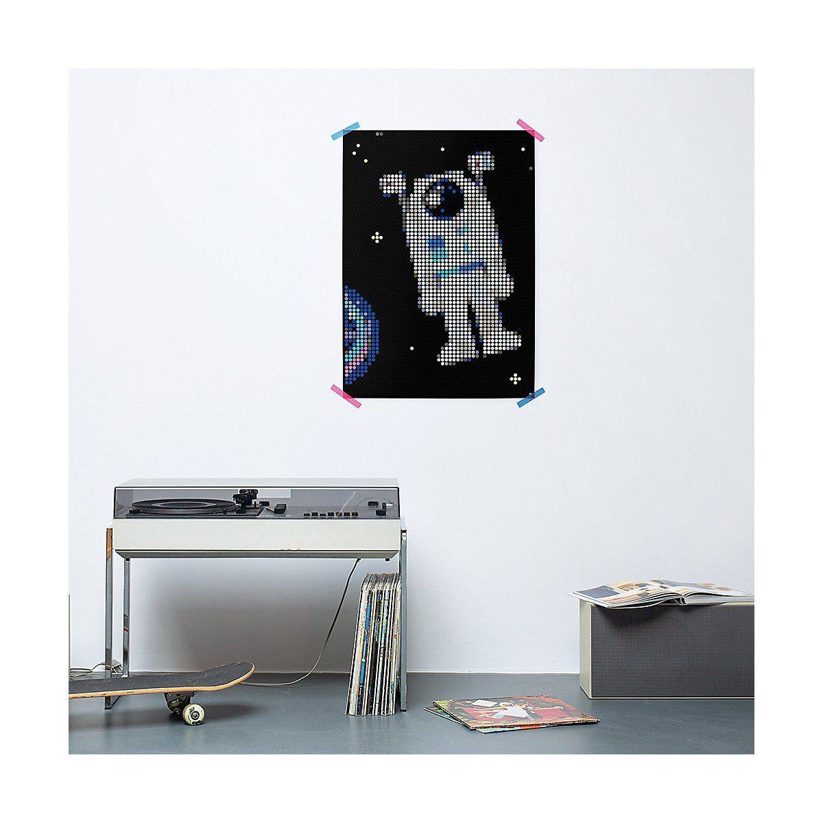 Dot On Malvorlage »dot on art - space - astronaut 50 x 70