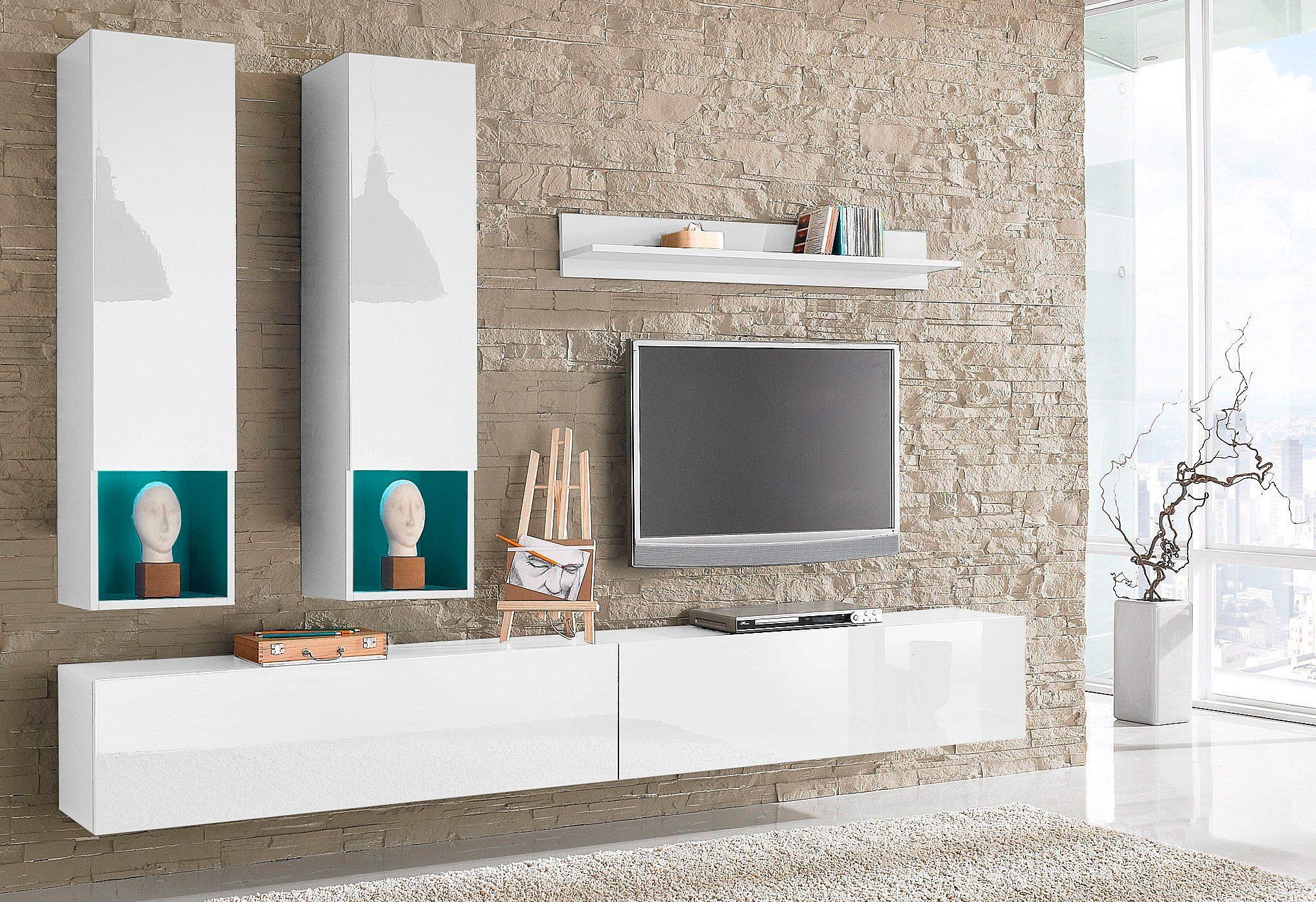 Wohnzimmerwand Weiss Holz - Ideen für Hausdesign, Hochzeit ...