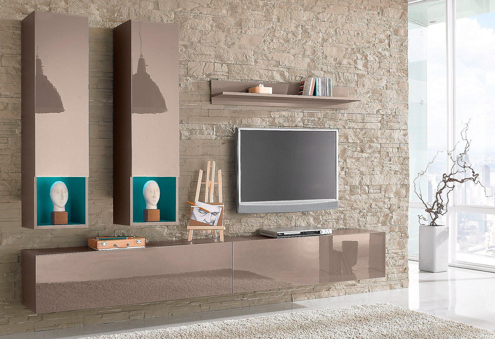 Tecnos Wohnwand 5tlg online kaufen  OTTO