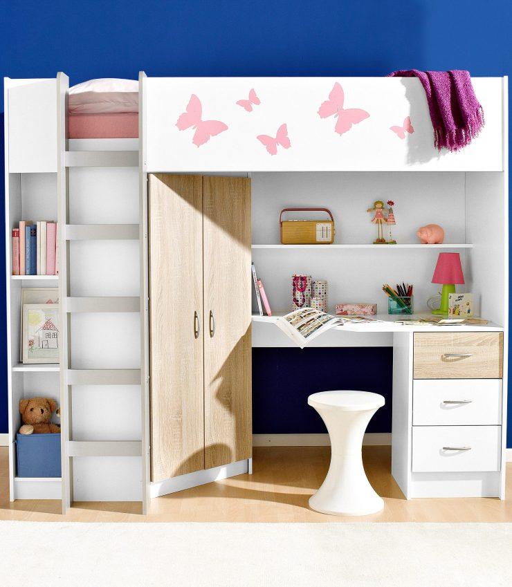 Kinderhochbett Mit Schrank Und Schreibtisch 2021