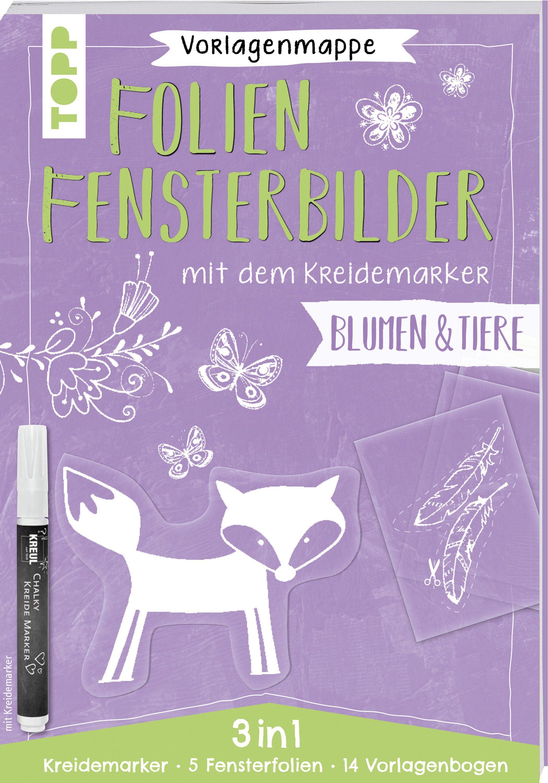 Topp Malvorlage »Buch Folien-Fensterbilder mit dem
