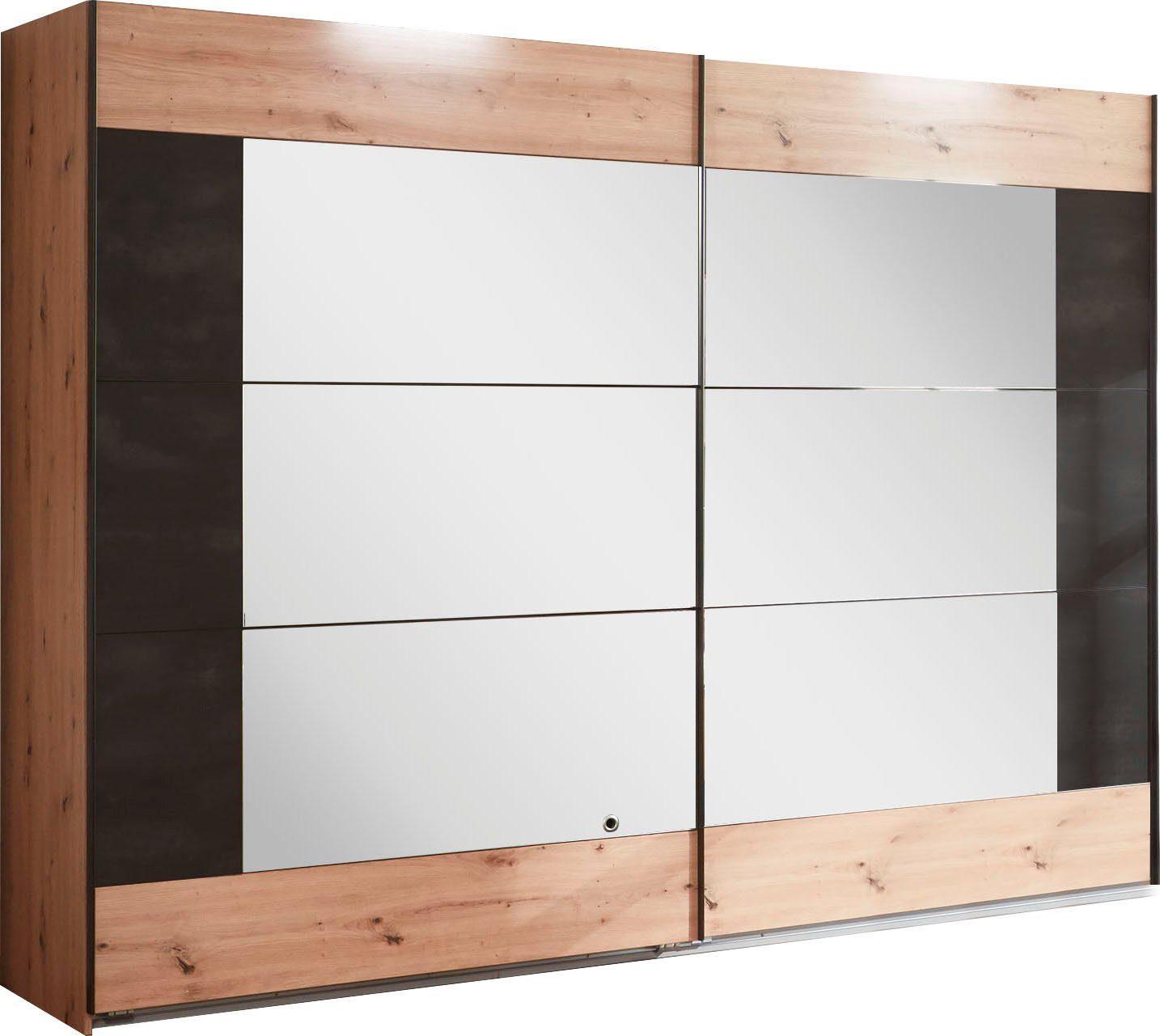 Wimex Schwebetürenschrank »Bristol« mit Spiegeltüren ...