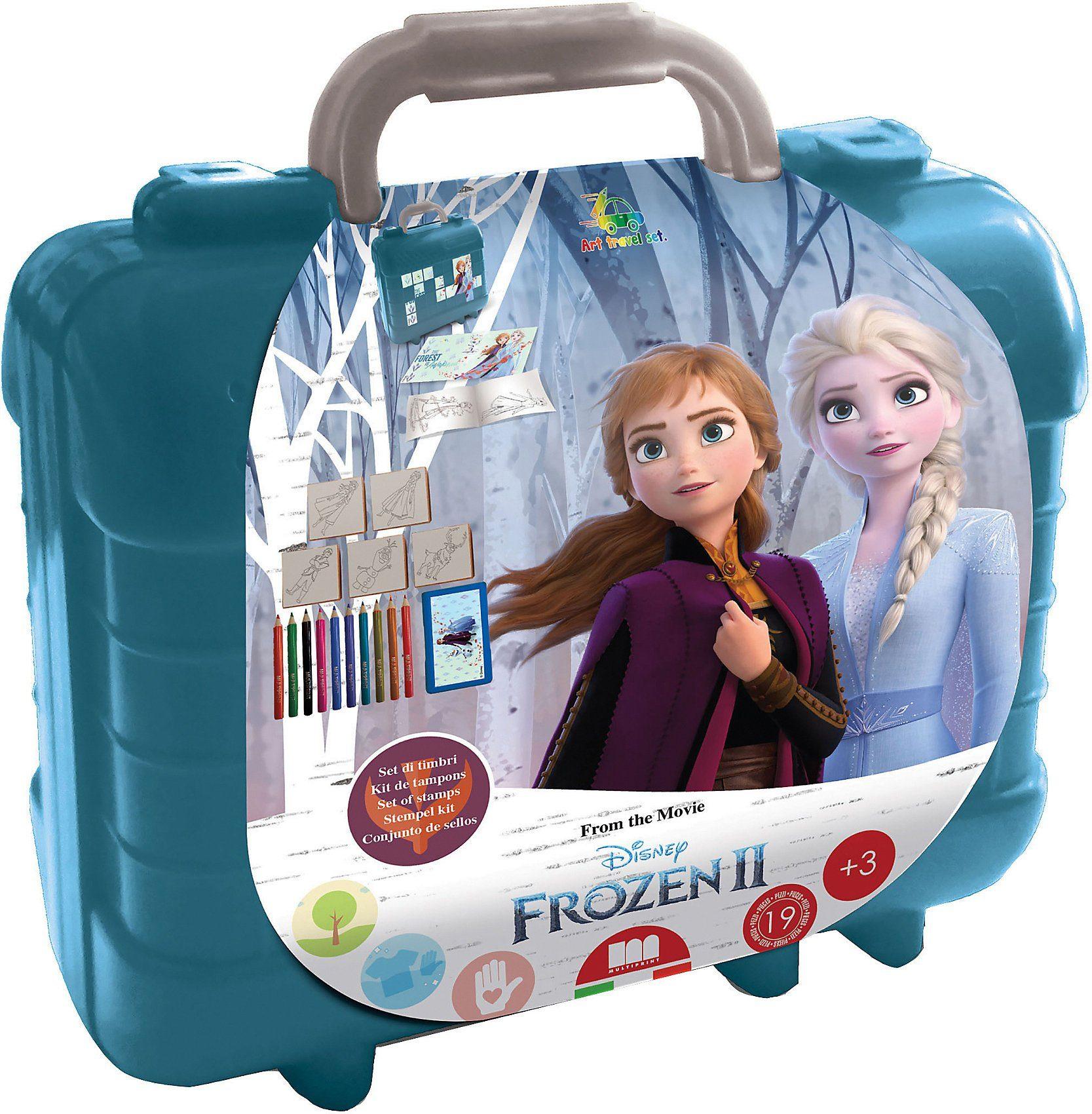 Disney Frozen Malvorlage »Frozen 2 Travel Set Malset