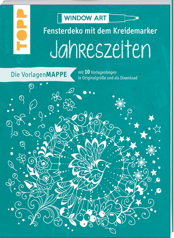 Topp Malvorlage »Buch 'Vorlagenmappe - Fensterdeko mit dem