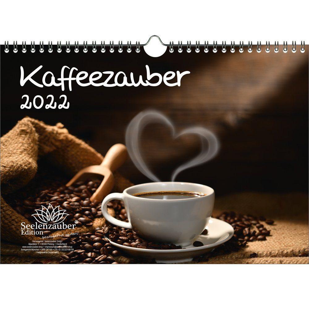 Seelenzauber Wandkalender »Kaffeezauber DIN A4 Kalender