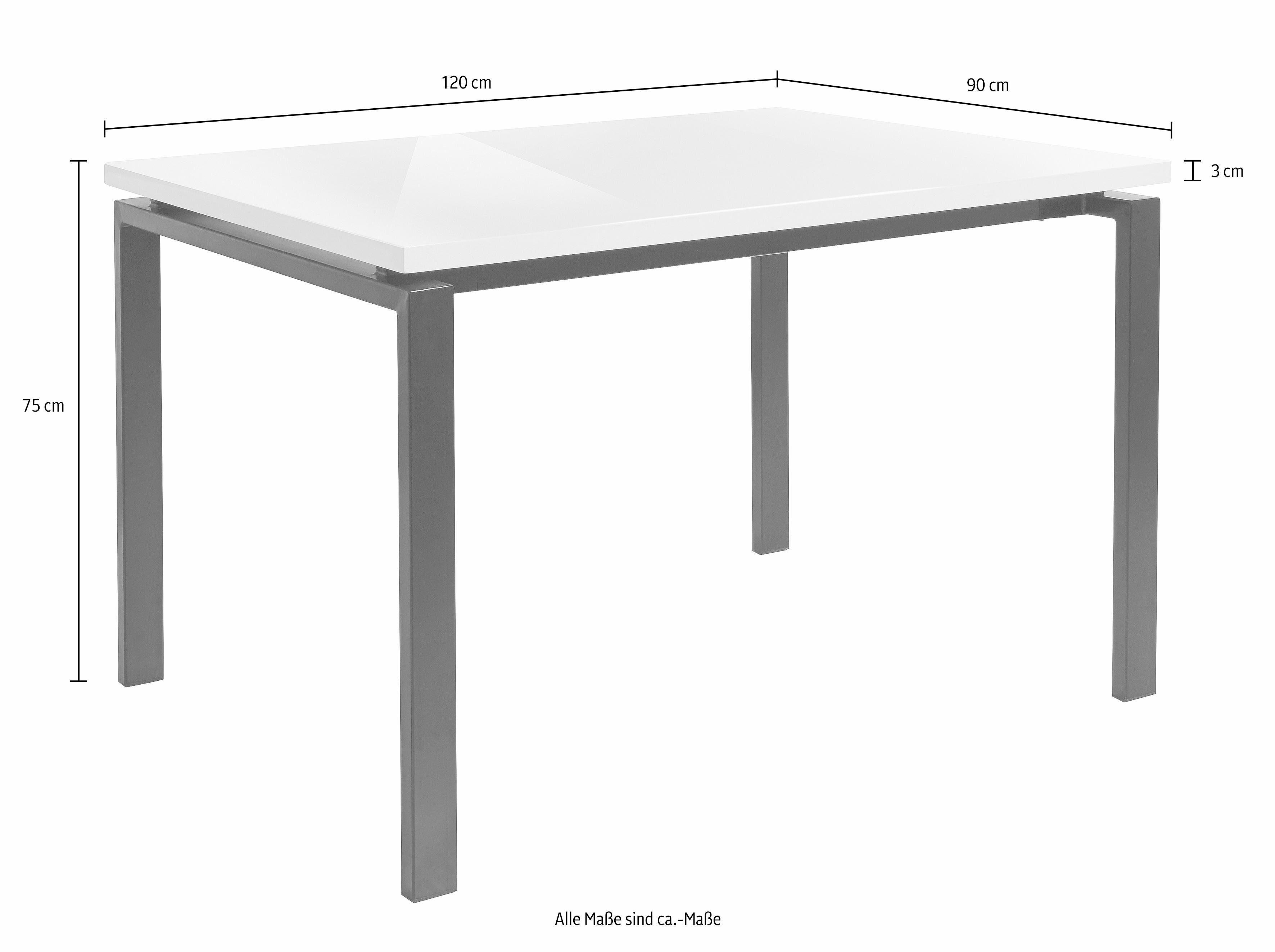 Witte Eettafel 160.Eettafel 160 Mook Geneve Eiken