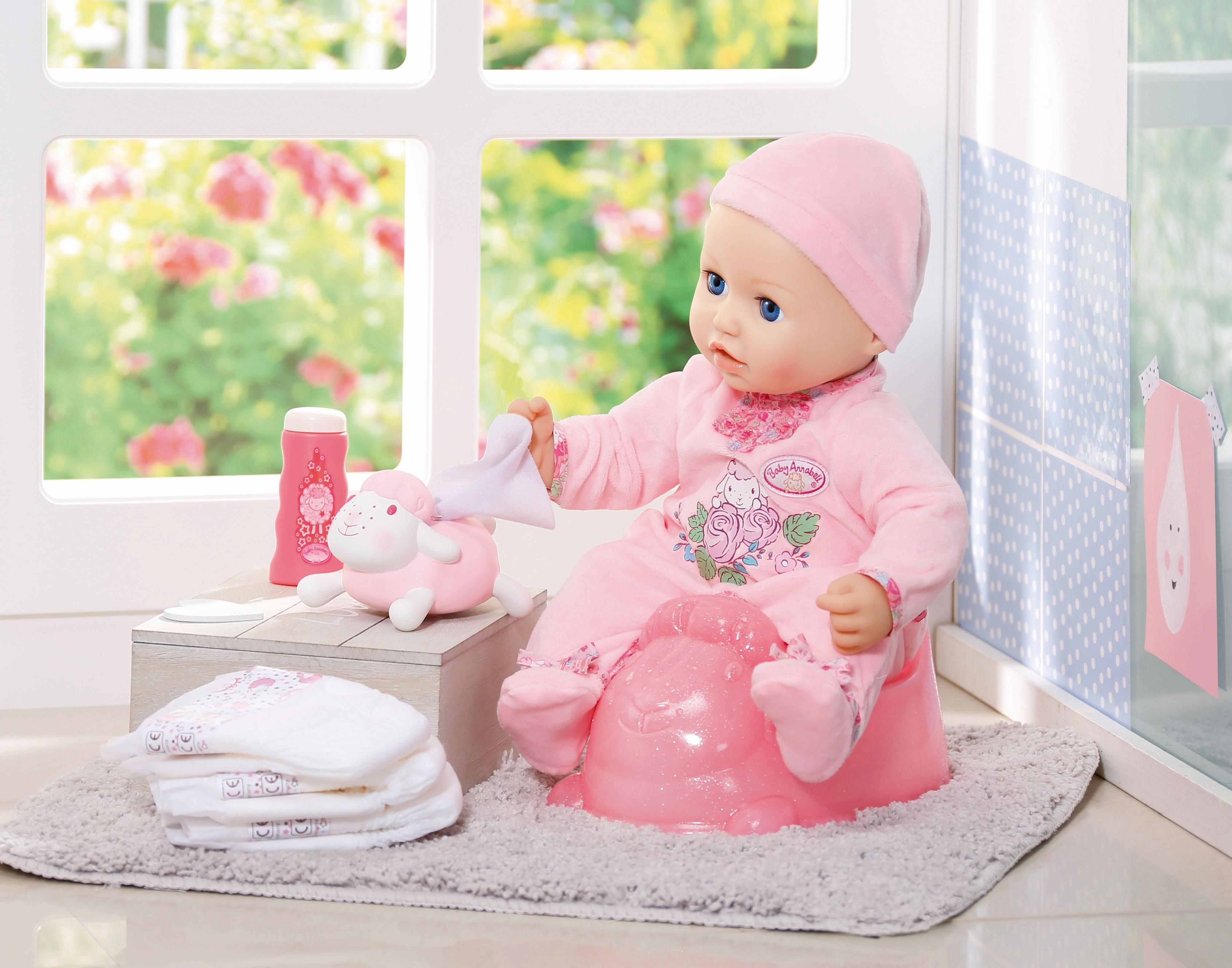 ZAPF CREATION poppenpotje Baby Annabell potjestraining