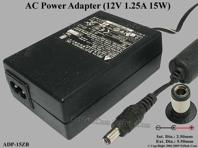 "Delta Electronics Adp15zb Ac Adapter 5v12v Adp15zb, ""new"""