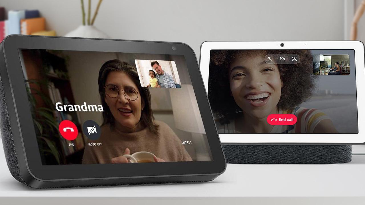 Amazon Echo Show против Google Nest Hub