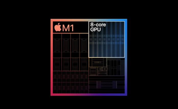 Apple M1 chip diagram