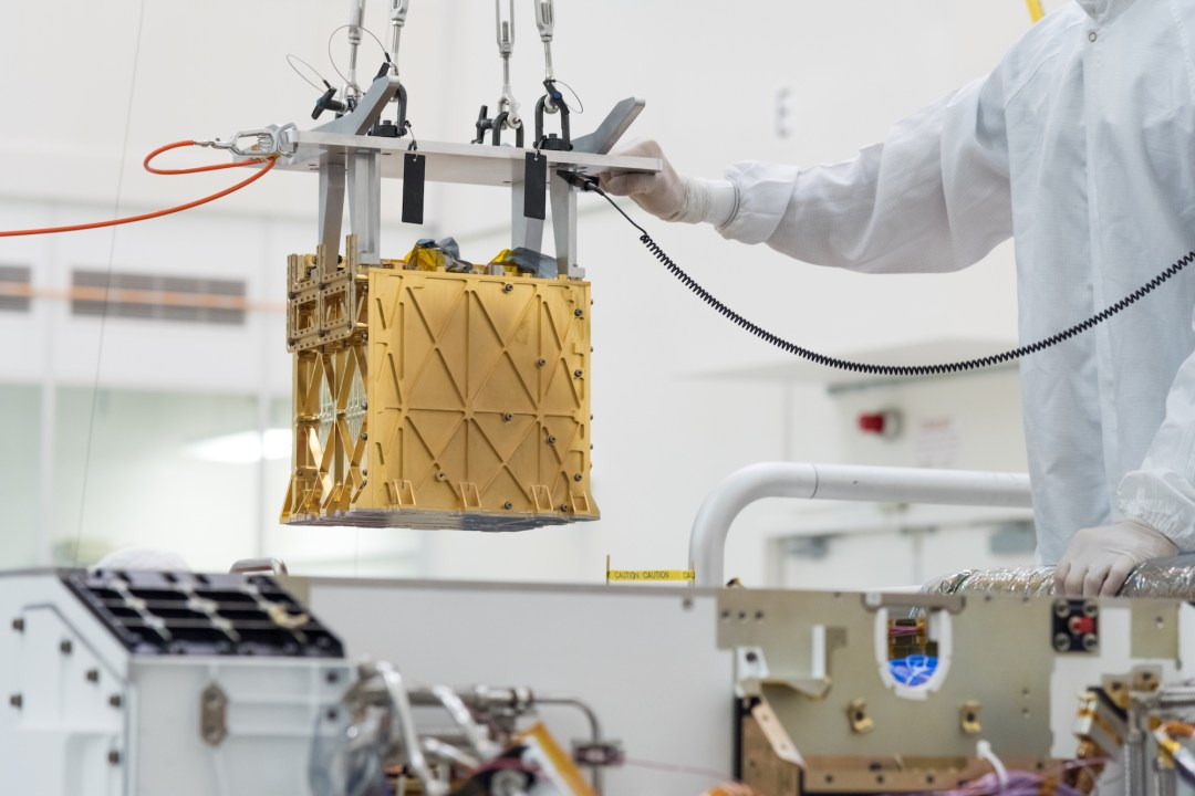 Mars Oxygen In-Situ Resource Utilization Experiment (MOXIE)