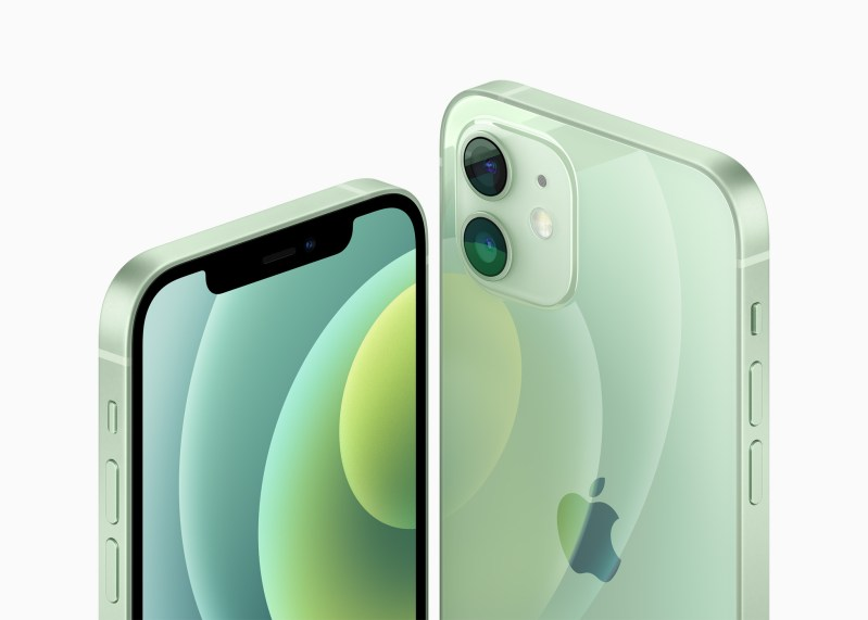 iPhone 12 and iPhone 12 Mini front and back