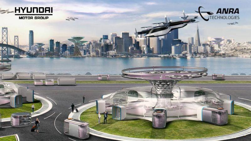 Hyundai and ANRA autonomous aviation management system