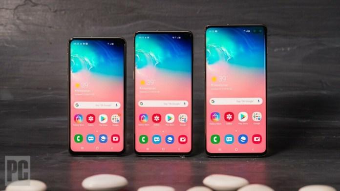 Galaxy Of Choices Samsung Galaxy S10 Vs S10 Vs S10e Vs S10 5g Pcmag