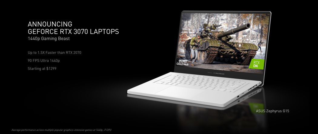 Over 70 Laptops With Nvidia RTX 3000 GPUs Expected This Year | PCMag