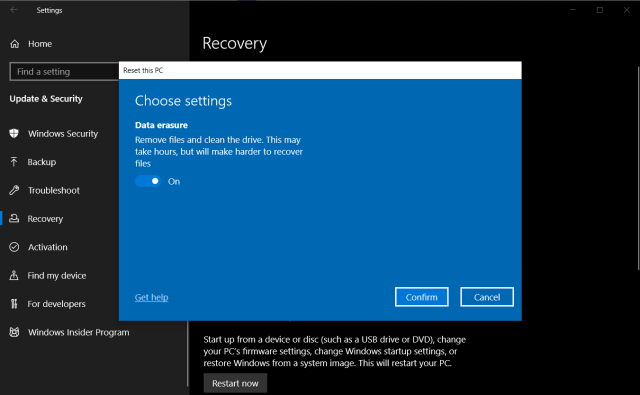 How to Factory Reset Windows 18  PCMag