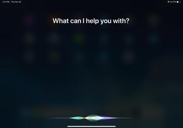 Activar Siri