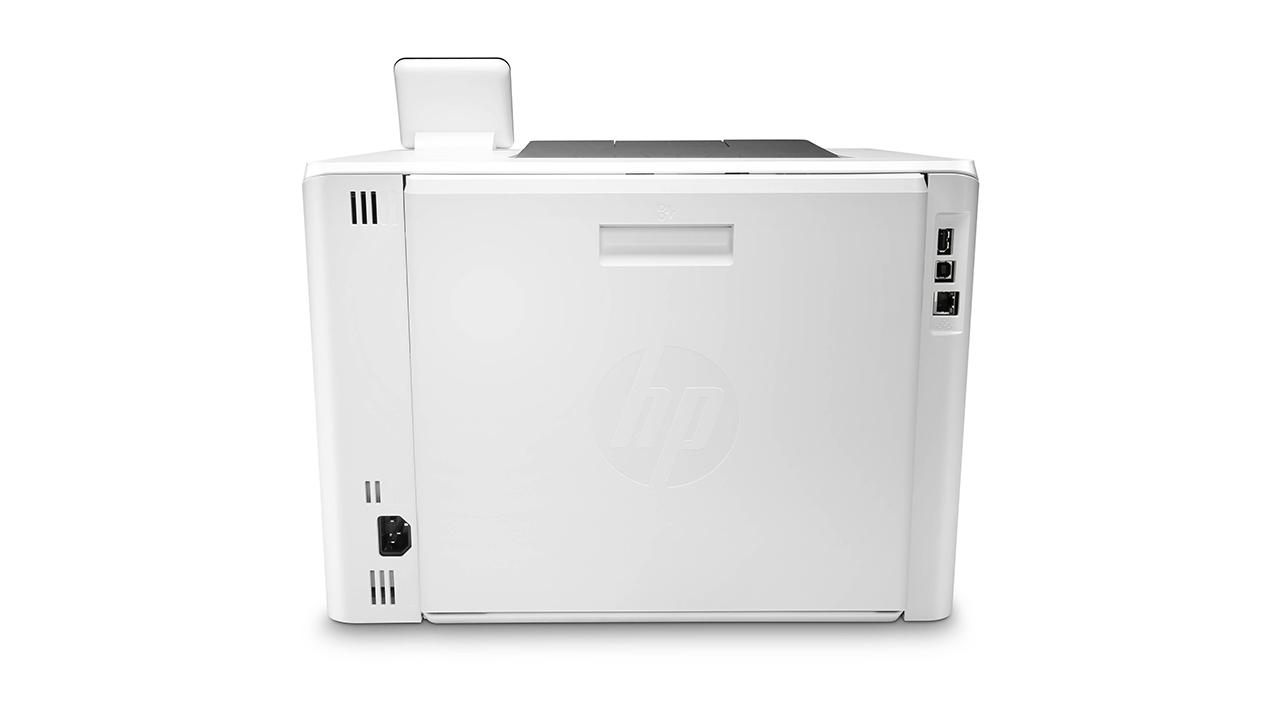 HP Color LaserJet Pro M454dw сзади