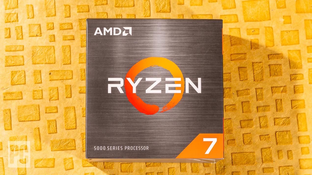 Коробка AMD Ryzen 7 5800X