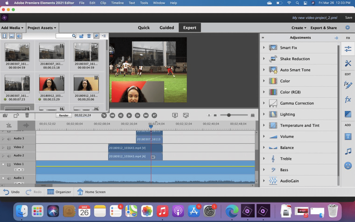 Adobe Premiere Elements for the Mac