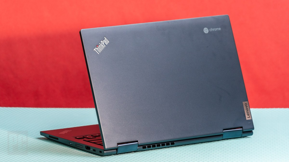 Lenovo ThinkPad C13 Yoga Chromebook rear view