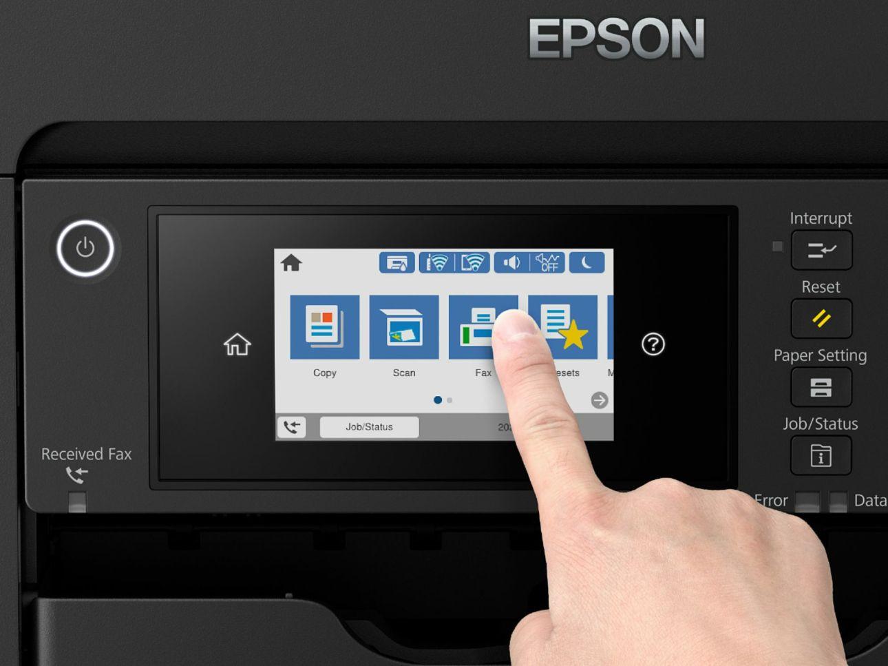 Панель управления Epson WorkForce Pro WF-7820