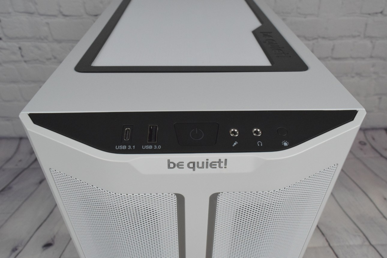 Be Quiet Pure Base 500DX (передняя панель ввода-вывода)