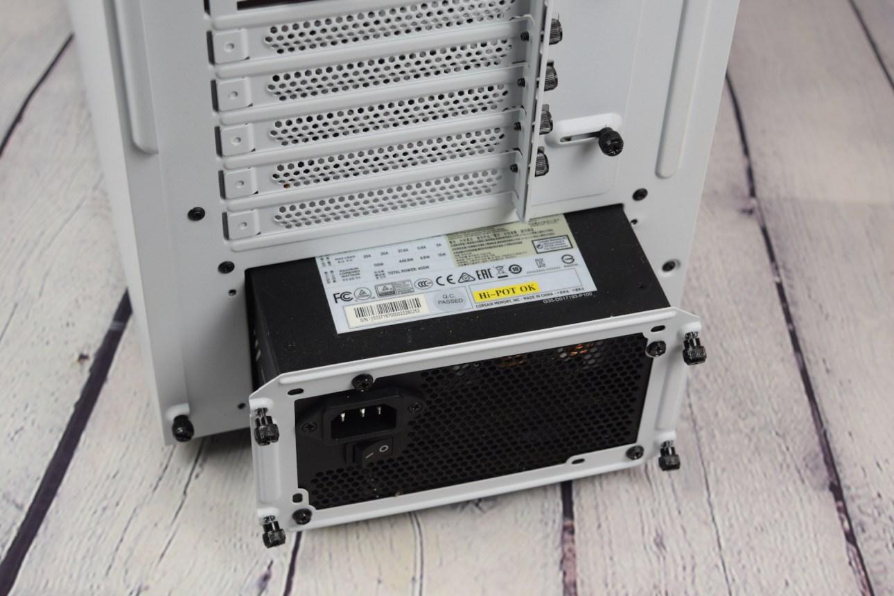 Be Quiet Pure Base 500DX (крепление для блока питания)