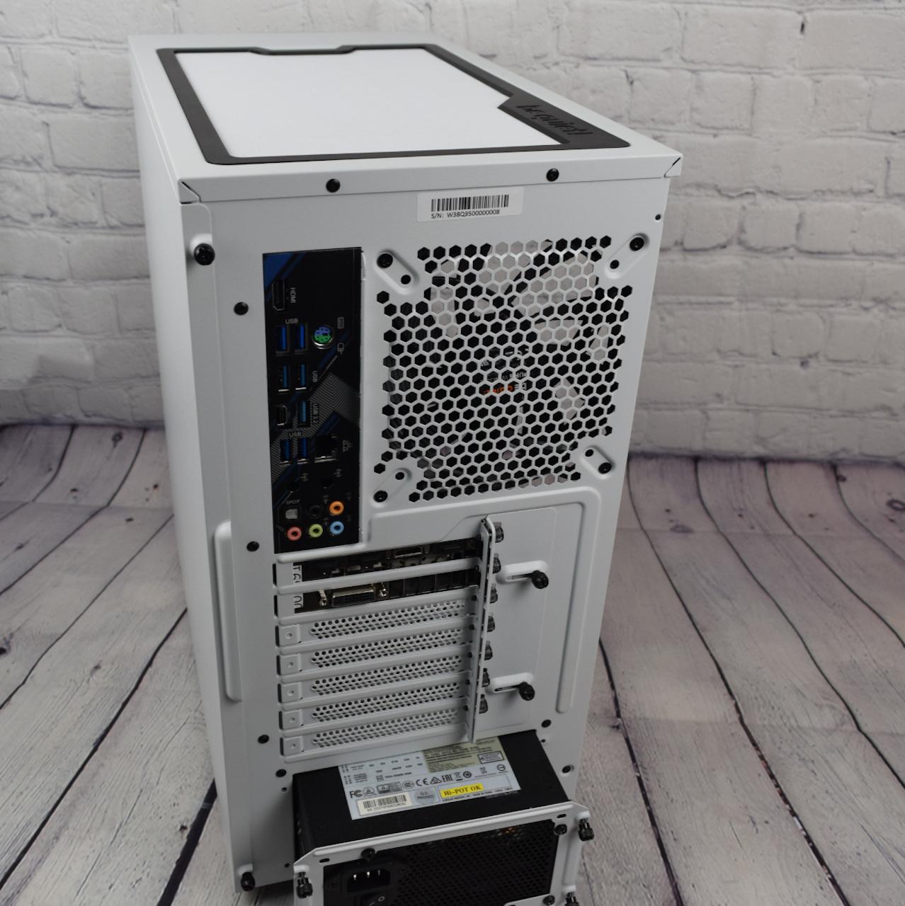 Be Quiet Pure Base 500DX (задняя панель)