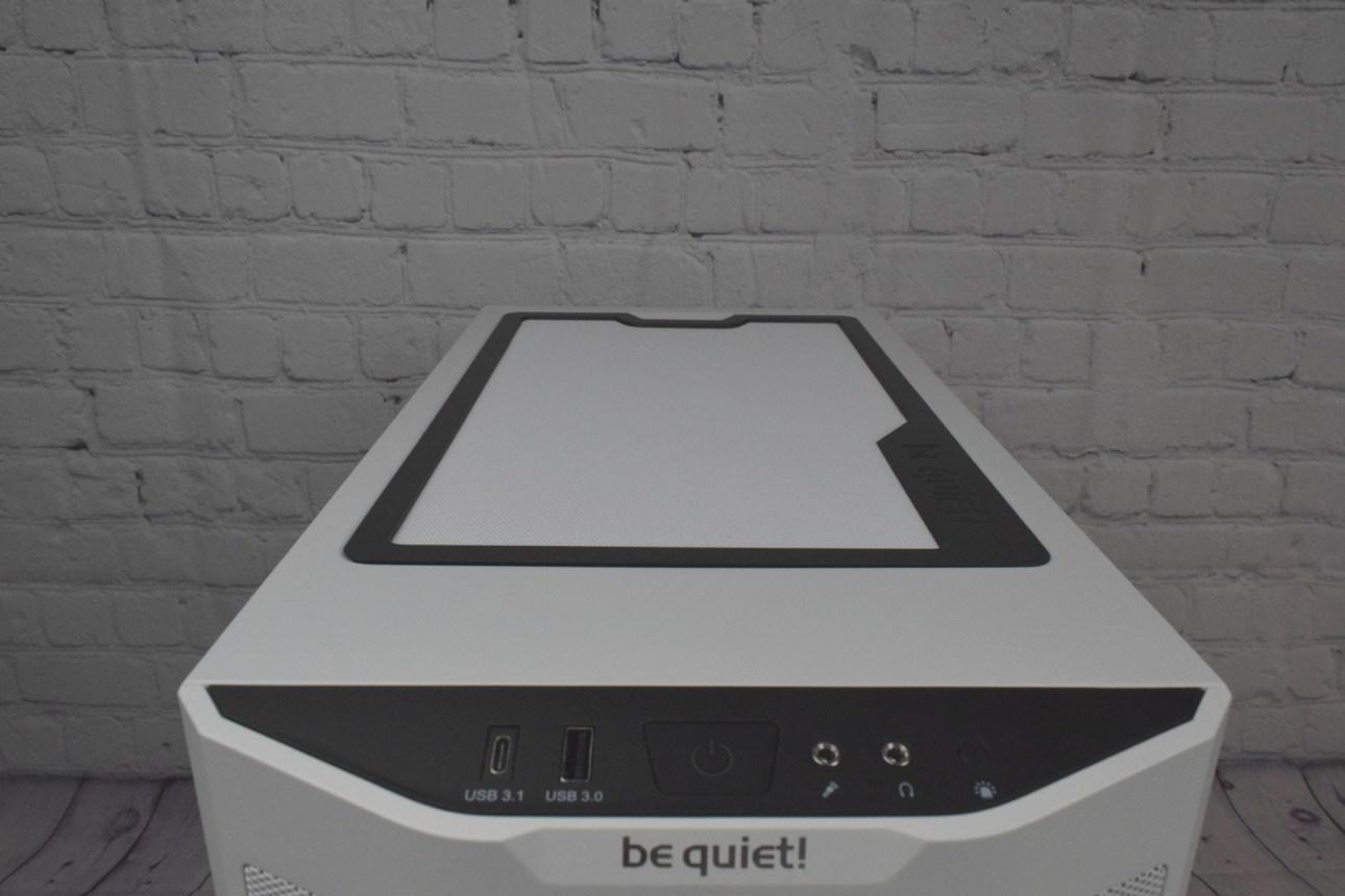 Be Quiet Pure Base 500DX (Вверху)