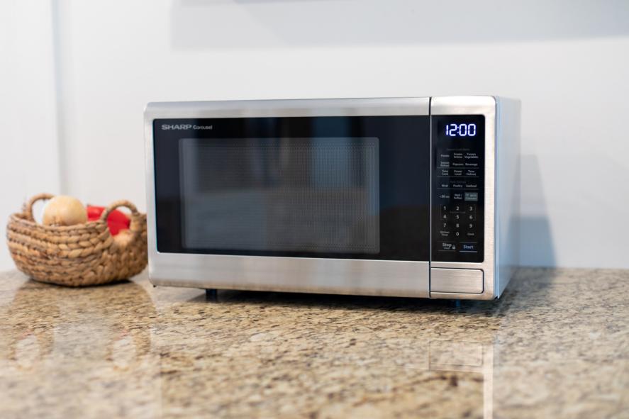 sharp smart countertop microwave oven