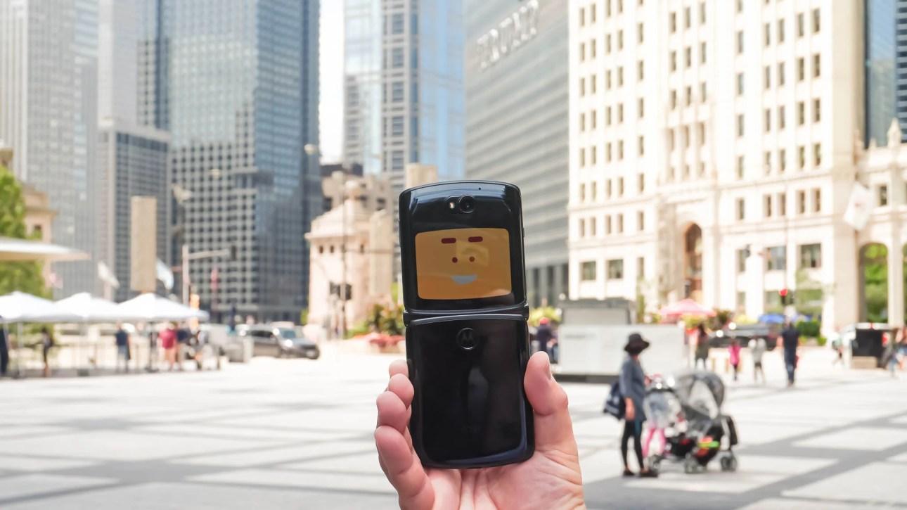 Razr 5G фото анимация