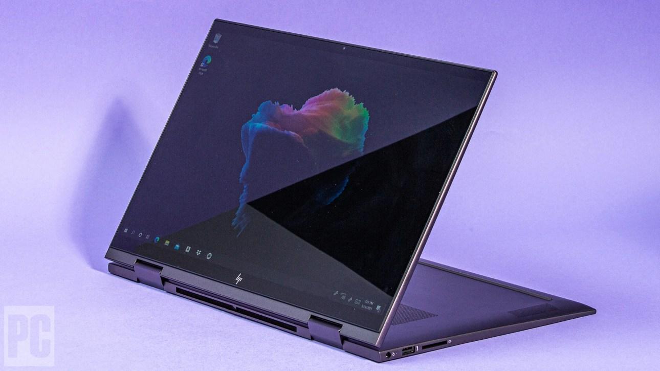 HP Envy x360 15 (2021) в стандартном режиме