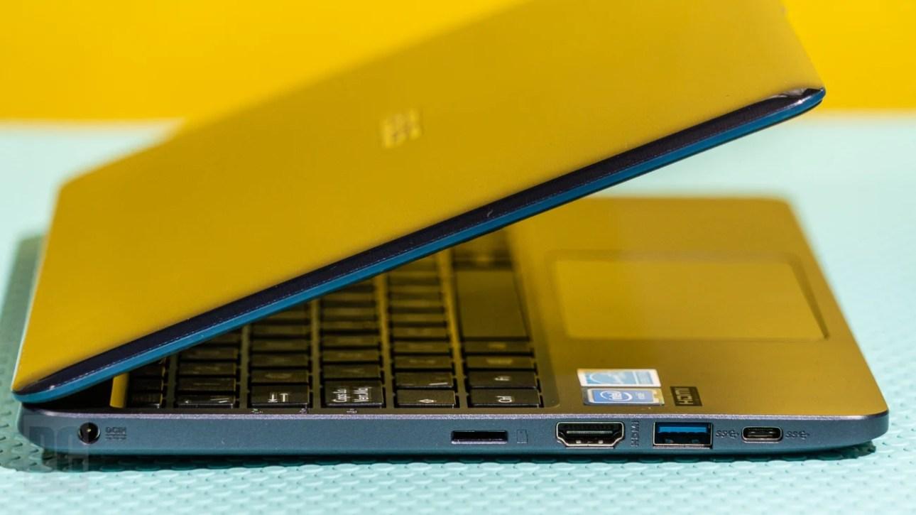 Asus VivoBook 11 (L203) левые порты