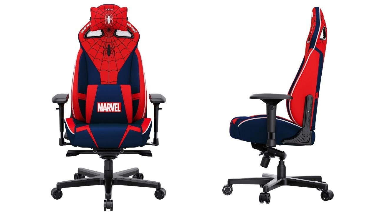 Виды игрового кресла AndaSeat Marvel Collaboration Series