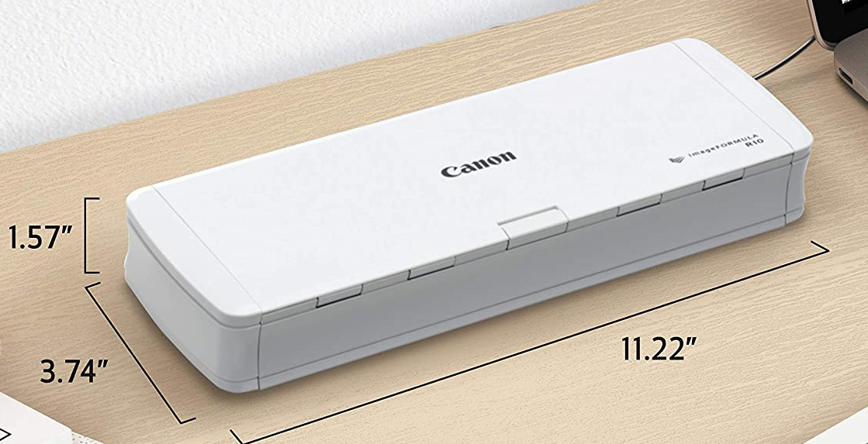 Canon imageFormula R10 размеры