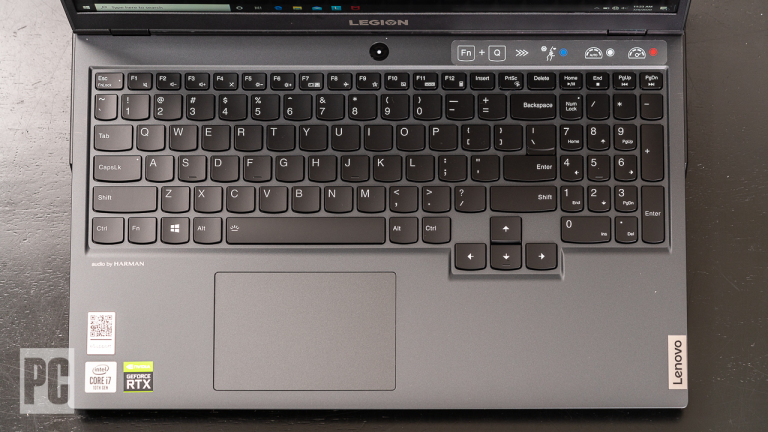 Lenovo Legion 5i keyboard and touchpad