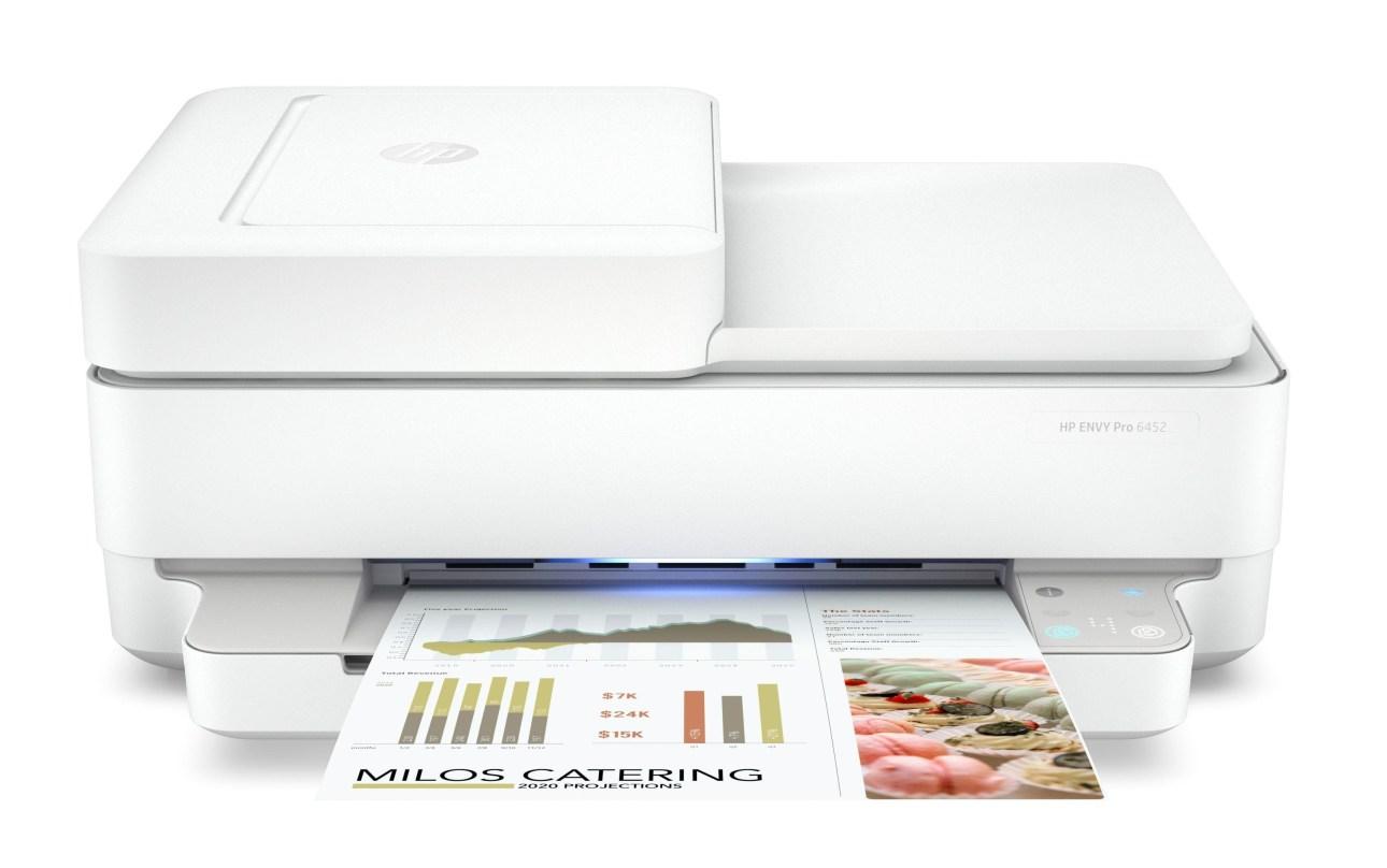 Вывод на принтер HP Envy Pro 6455 All-in-One