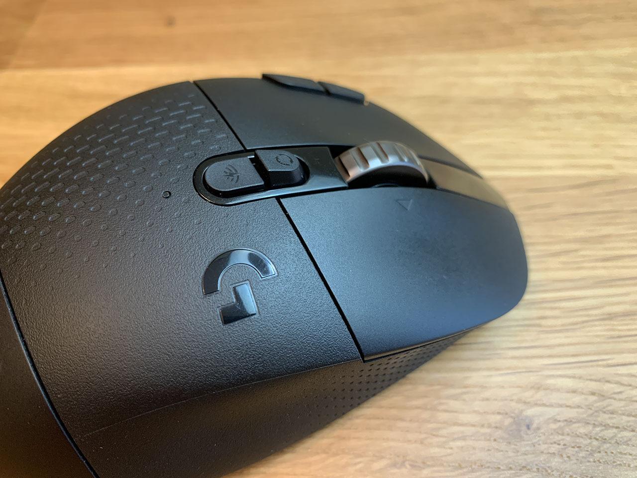 Колесо беспроводной игровой мыши Logitech G604 Lightspeed