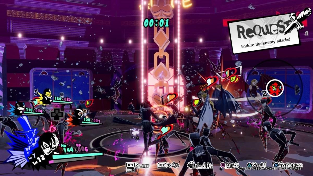 Persona 5 Strikers gameplay