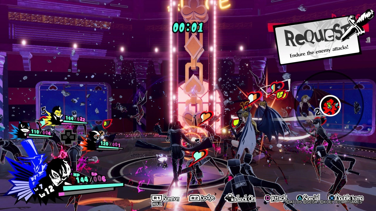Геймплей Persona 5 Strikers